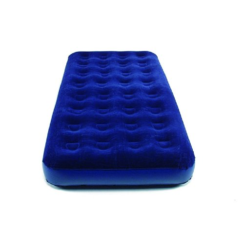 Happy People Single 1 Air Bed, 191 X 99 X 22 cm, Fabric, Multi-Color