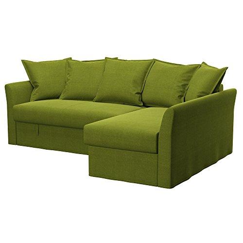 Soferia - IKEA HOLMSUND Funda para sofá Esquina, Elegance Green