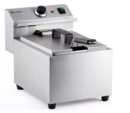 HENDI 209202 Friteuse Mastercook met aftapkraan - 8 l