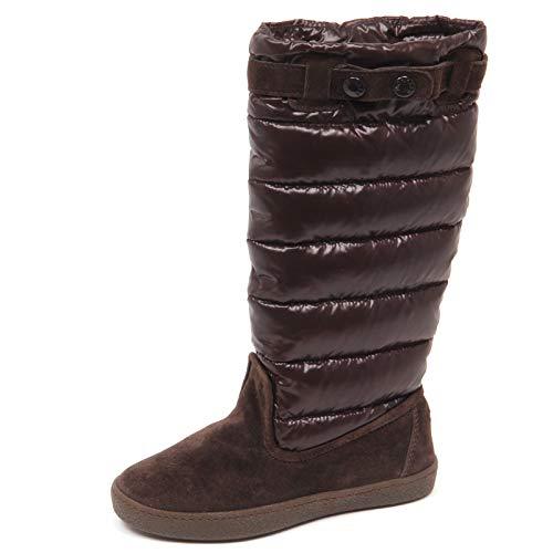 Moncler E8658 Stivali Bimba Girl JUNIOR Girl Brown Shoes Boot [30]