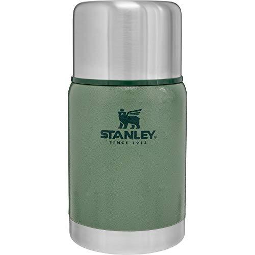 Stanley Adventure Vacuum Food Jar Edelstahl-Essensbehälter, | BPA-frei |Hält 15 Stunden heiß oder kalt | Deckel fungiert als Becher | Lifetime Warranty, Green, 709 ml