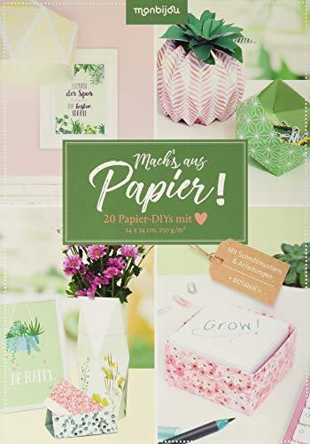 Mach's aus Papier!: 20 Papier_DIYs mit Herz (monbijou)