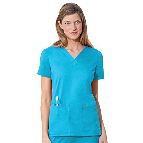 Cherokee Women's Workwear Flex with Certainty V-Neck Top