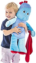 Based on the adorable Iggle piggle character from the much-loved CBeebies show, In the Night Garden Iggle piggle measures over 55cm tall! Press Jumbo Iggle Piggle's tummy to hear his fun sounds. There are 5 to enjoy Jumbo Iggle piggle is made from su...