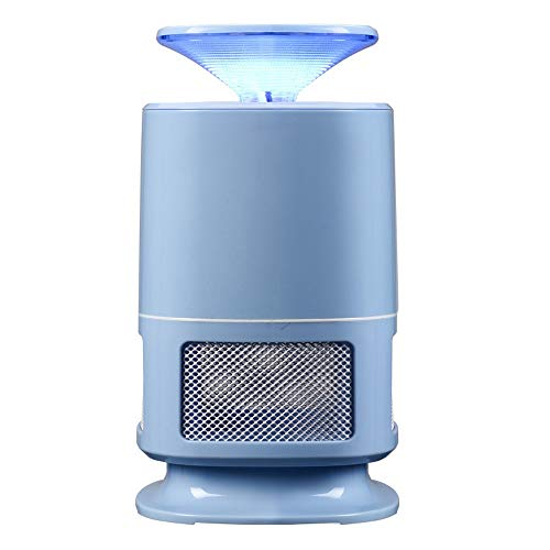 Y-AN Zero In High Voltage Insect Killer,Poison-Free Bug Zapper,UV Light Lamp,Kills Flies,Midges And Mosquitoes,Home Use Electric Fly Killer,Efficient mute mosquito control (Color : Blue)