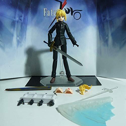 Bosi General Merchandise Schicksal/Null, Säbel, schwarzer Anzug, bewegliches Modell, PVC, Sammlermodell, Spielzeuggeschenk