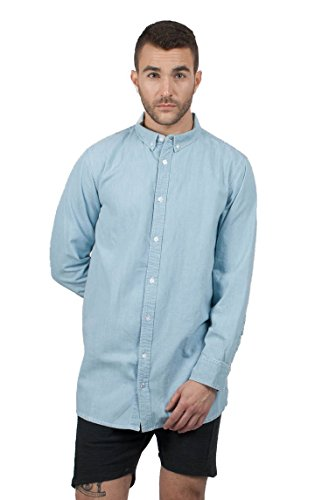 Wemoto Arlington Langarm Hemd Light Blue (XS)