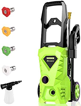 Homdox 2500 PSI Power Electric 1.5GPM 1600W Pressure Washer Machine