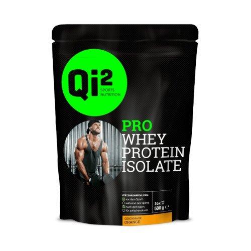 Qi² PRO Whey-Protein Isolate Shake Orange