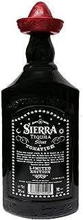 Sierra Tequila Silver MEX limited Edition schwarze Flasche 0,7 Liter