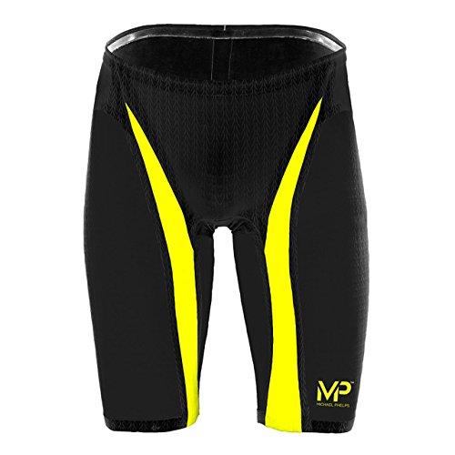 MP™ (Michael Phelps) XPRESSO Jammers schwarz/gelb Größe 30