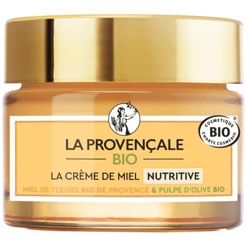 La Provençale Bio – Crème de Miel Nutritive – Miel de Fleurs Bio IGP Provence et...