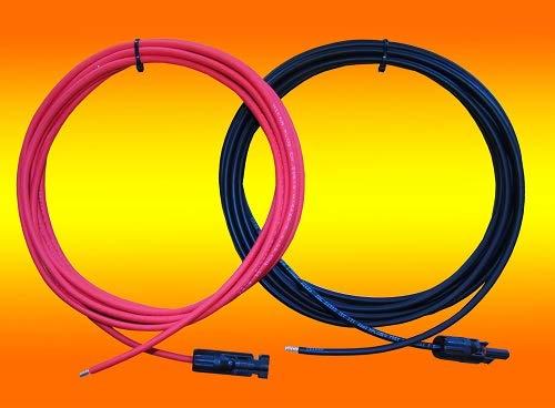 Verbindungskabel 4mm² 5m Solarkabel Anschlusskabel PV Kabel