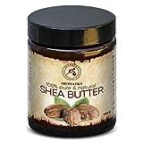 Shea Butter - Sheabutter 100% Rein und Natürlich - Ghana - Raffiniert Karité Body Butter 100g - Körperbutter - für Schönheit - Massage - Wellness - Kosmetik - Körperpflege
