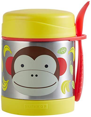 Skip Hop Aufbewahrungsbehälter, für Essen aus Edelstahl, isoliert, Affe Marshall, mehrfarbig