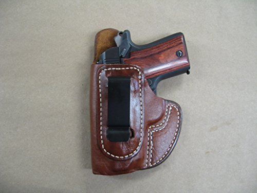Azula IWB Molded Leather Concealed Carry Holster for Kimber Micro 9 9mm TAN Left Hand