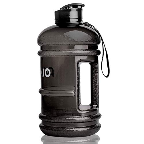 PANKIO Water Bottle Half Gallon Water Jugs 73 oz Sport Water Jug 2.2L Leak Proof BPA Free Hydro Bottle for Gym Yoga Travel Cycling Camping