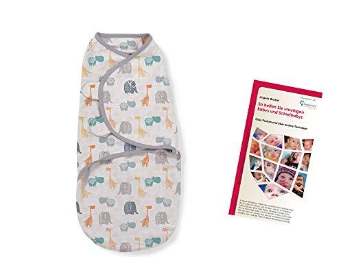 l summer Infant Beige Ivory Swaddleme pucksack sac de couchage coton taille s