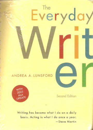 Everyday Writer 2e comb bound with 2003 MLA Update and Online 3e! With 2001: APA Update