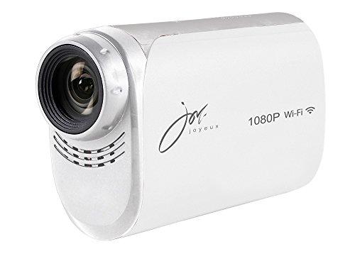 joyeux(ジョワイユ) 防水 フルハイビジョン WiFi 対応 アクションビデオカメラ ホワイト JOY200WH ホワイト