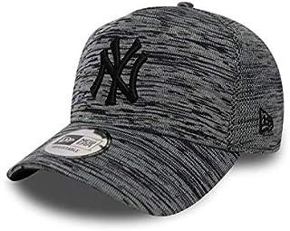 New Era Engineered Fit A Frame New York Yankees Beyzbol Şapkası, Gri, Tek Ebat, Gri (Gri 4), Tek Ebat (Üretici Ölçüsü: Osfa)