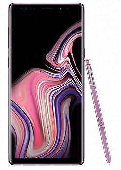 Samsung Galaxy Note 9  SM-N960F/DS  6GB / 128GB  Lavender Purple  6.4-inches LTE Dual SIM  GSM ONLY NO CDMA  Factory Unlocked - International Stock