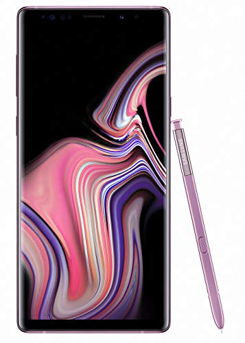Samsung Galaxy Note 9 (SM-N960F/DS) 6GB / 128GB (Lavender Purple) 6.4-inches LTE Dual SIM (GSM ONLY, NO CDMA) Factory Unlocked - International Stock