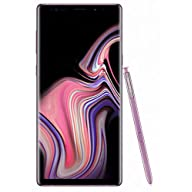 Samsung Galaxy Note 9 (SM-N960F/DS) 6GB / 128GB (Lavender Purple) 6.4-inches LTE Dual SIM (GSM ONLY, NO CDMA) Factory Unlocked - International Stock No Warranty Screen Display with S-Pen Stylus