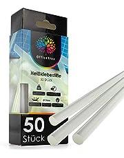 ProfessionalTree 50 hete lijmsticks - 7 x 150 mm rond - Extra Power lijm voor gangbare lijmpistolen voor het netjes verlijmen van diverse materialen - oplosmiddelvrij transparant sneldrogend