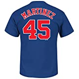 Majestic Pedro Martinez Montreal Expos MLB Cooperstown Player Blue T-Shirt -