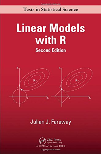 Linear Models with R (Chapman & Hall/CRC Texts in Statistical Science)