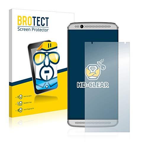 BROTECT Schutzfolie kompatibel mit ZTE Axon 7 Mini (2 Stück) klare Bildschirmschutz-Folie