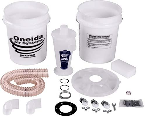 Oneida Molded Deluxe Dust Deputy Kit with Two 5-Gallon Plastic Buckets