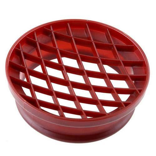 Gitterpresseform Ananas-Brötchenform – Kunststoff Brot Kuchenform Küche Gebäck Backwerkzeug – 2 Stück