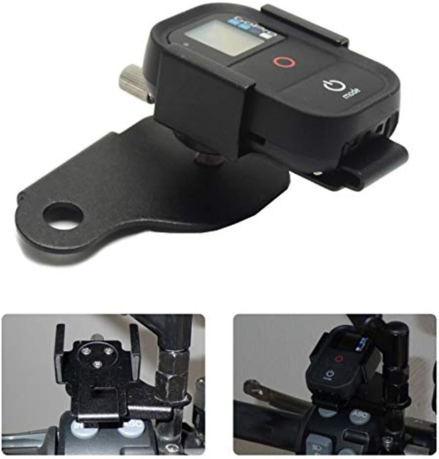 AjaxStore  for BMW R1200GS Front Bracket for GoPro Remote Control Bracket F700GS F800GS ADV K1200R 2013 2014 2015 After Market