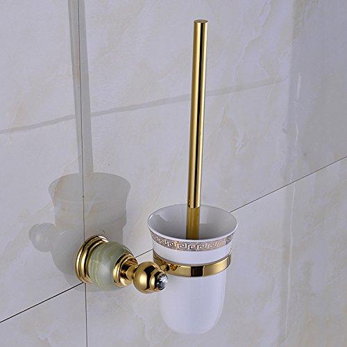 XBR brosse _ cuivre européenne jade brosse toilette toilettes pendaison pendentif brosses de nettoyage,golden