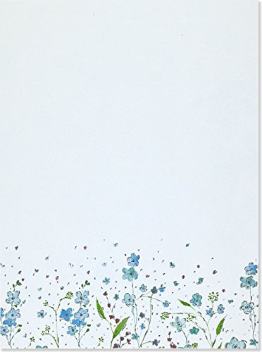 Blue Flowers (Letter-Perfect Sta...