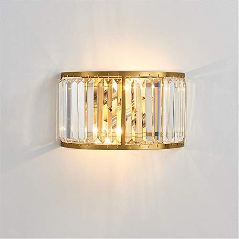 Postmodern Licht Luxus Kristall Wand Lampe Kreative Mode Einfaches Hotel KTV Gang Korridor Schlafzimmer Nachttischlampe Golden Schwarz,Gold
