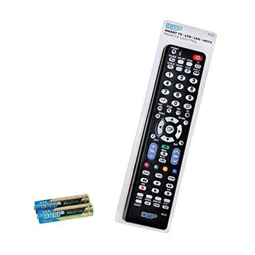 HQRP Universale Fernbedienung kompatibel mit Samsung LED-Fernseher UE40JU6580, UE48JU6580, UE55JU6580 Ultra HD, Smart TV