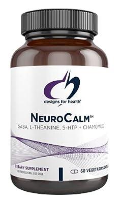 Designs for Health NeuroCalm - GABA + Serotonin Support Formula with 5-HTP, Inositol + Taurine (60 Capsules)