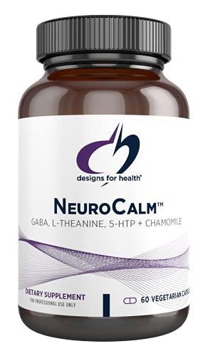 Designs for Health NeuroCalm - GABA (PharmaGABA), L-Theanine, 5-HTP +...