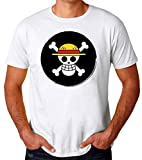 One Piece Pirates Logo Camiseta para Hombres Medium