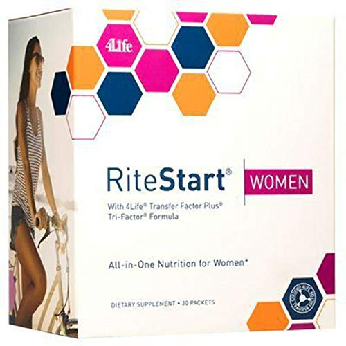 4Life - RiteStart Women - Daily Nutritional Pack - 1 Box - 30 Packets