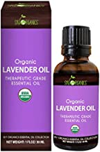 Lavender Essential Oil By Sky Organics (1oz) 100% Pure Therapeutic French Lavender Oil For Diffuser, Aromatherapy, Headache, Pain, Meditation, Anxiety, Sleep-Perfect For Candles & Massage