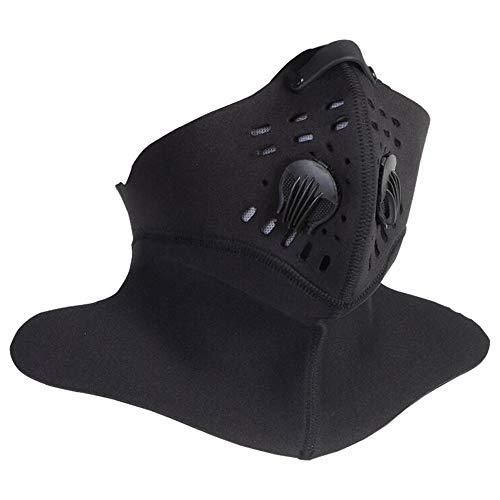 Máscara Deportiva anticontaminación Cebbay Protección contra Niebla tóxica y Polen ActividadesRecreativas al Aire Libre y Otros Deportes al AireLibre