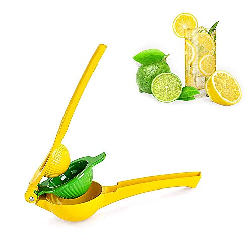 Jimee Lemon Lime Squeezer Manual Juicer Citrus Hand Press Heavy Duty Premium Quality Double Layers for Kitchen Use Party Drinks