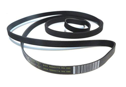 Hutchinson -Cinghia elastica di ricambio per cestello di asciugatrice 7PH 1995 (9000431719)
