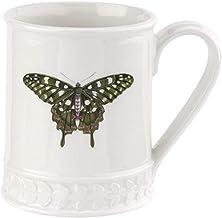 Portmeirion - Botanic Garden Harmony 16oz Embossed Butterfly Tankard (Forest Green)