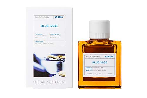Korres BLUE SAGE EDT für Ihn, 50 ml
