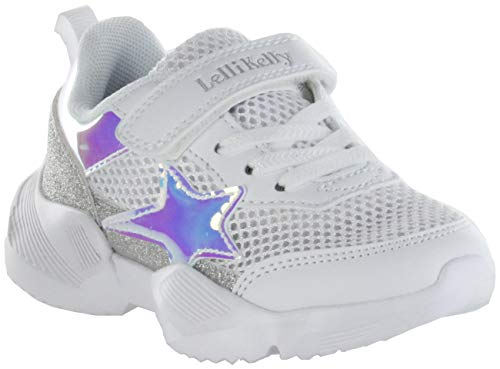 Lelli Kelly LK7890-AA57 Bianco Argento Candy - Zapatos para niña, color blanco